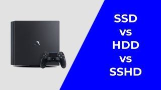 SSD vs HDD vs SSHD