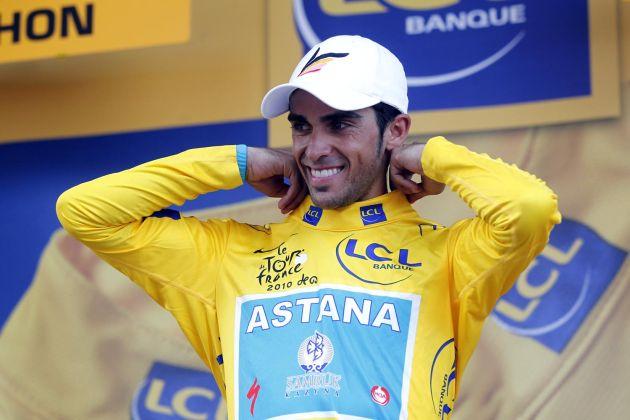 Alberto Contador, Tour de France 2010, stage 15