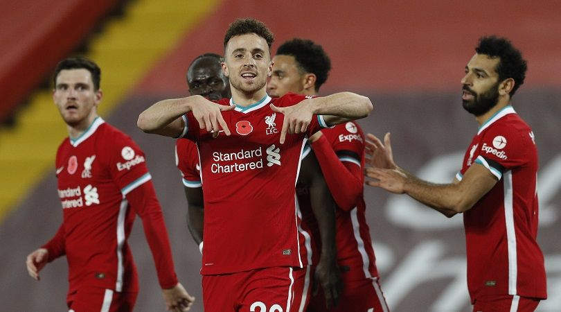 Liverpool forward Jota ruled out for rest of the season