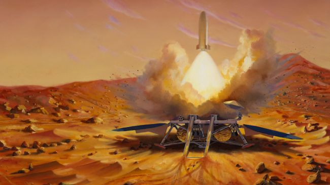 Lima Misi Baru ke Mars