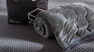 Black Friday deal: Layla weighted blanket