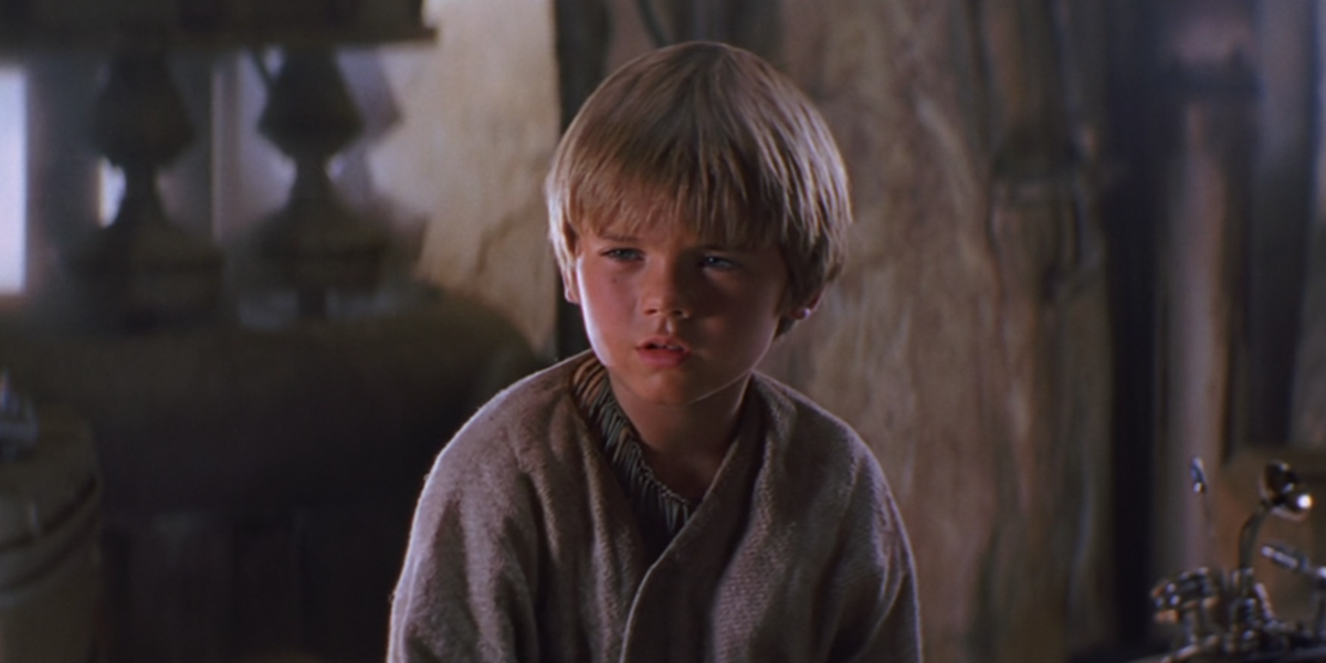 Anakin in Episode I