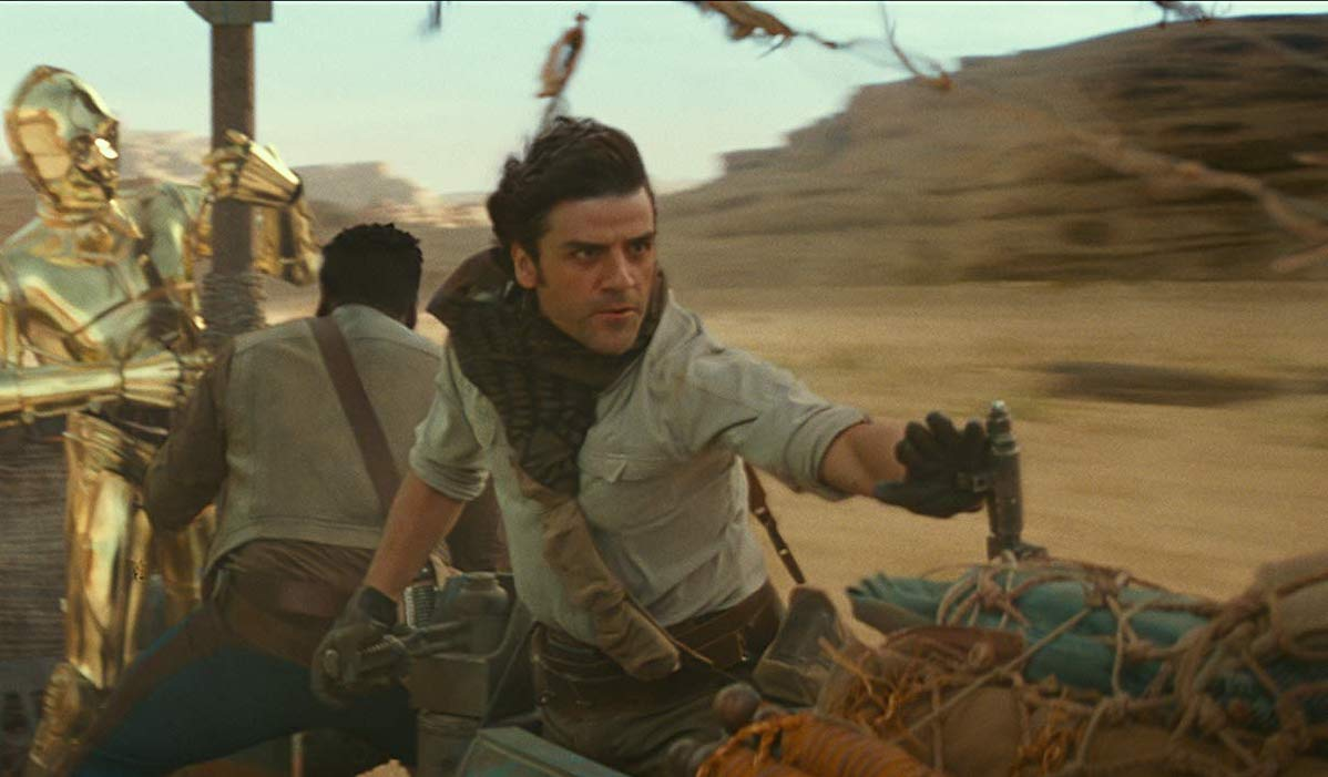 Oscar Isaac as Poe Dameron in Star Wars: Rise of Skywalker