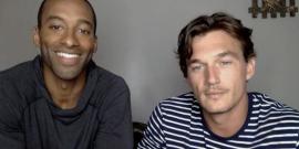 Watch The Bachelor's Matt James And Tyler Cameron Go All 40-Year-Old Virgin During Brazilian Wax