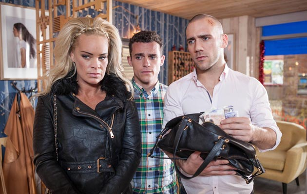 Grace confronts Tracey in Hollyoaks