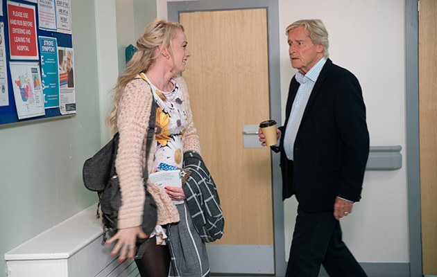 Coronation Street spoilers - A devastated Sinead breaks down and tells Ken Barlow she has cervical cancer