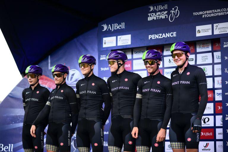 Saint Piran at the 2021 Tour of Britain