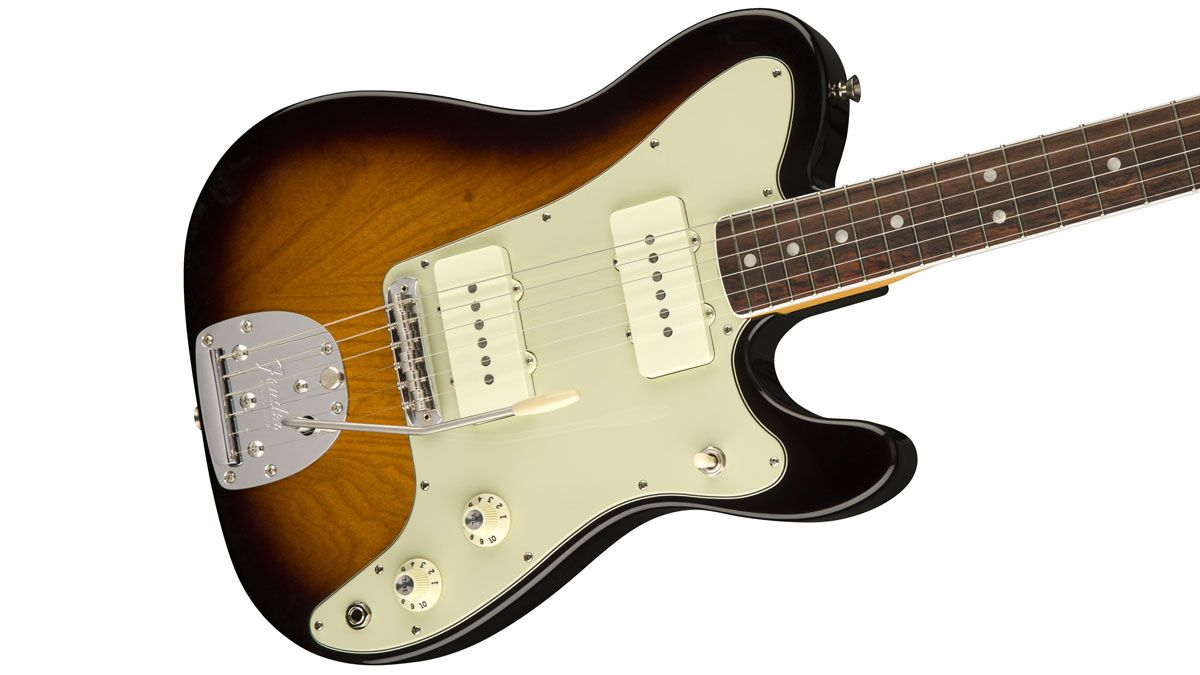 Jazzmaster meets Telecaster in Fender's bonkers Jazz-Tele hybrid