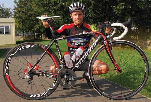 Rob Sharman Specialized Tarmac SL2