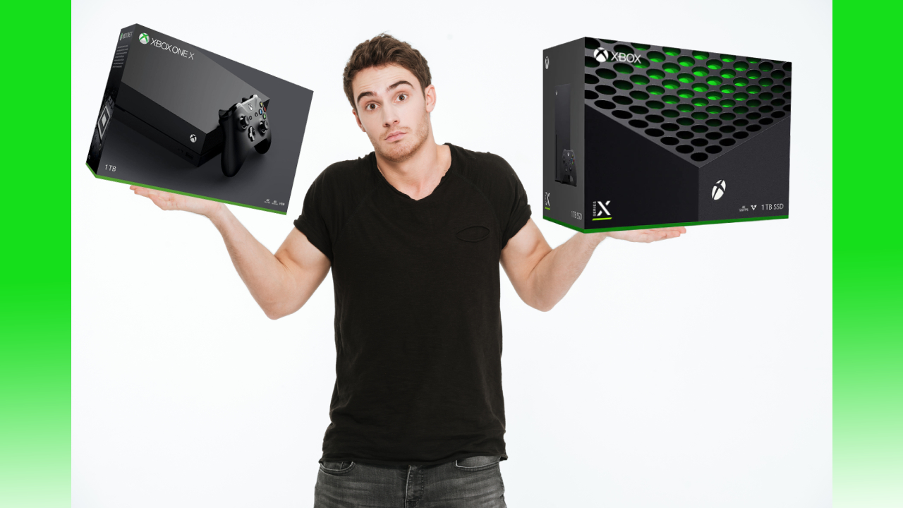 Bought An Xbox One X Instead Of An Xbox Series X You Probably Only Have Yourself To Blame Techradar