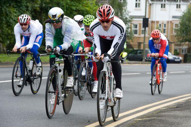 Fabian Cancellara, London 2012 Olympic time trial training, 31 July 2012