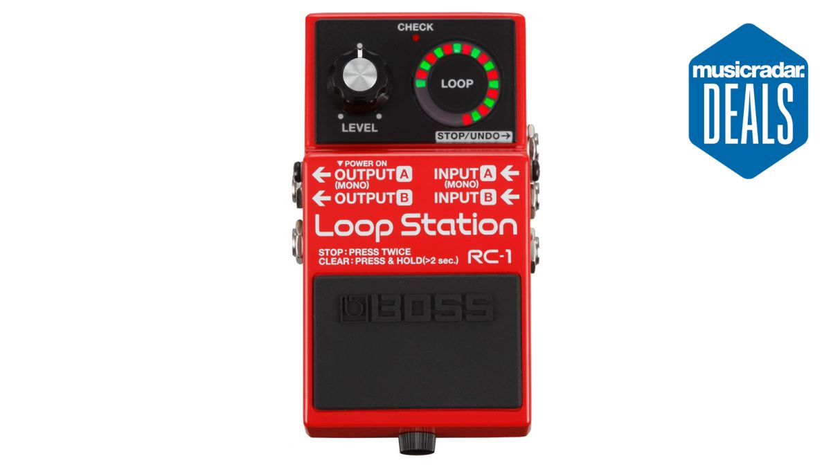 The best Boss RC-1 deals in May 2021: save big on this iconic looper pedal