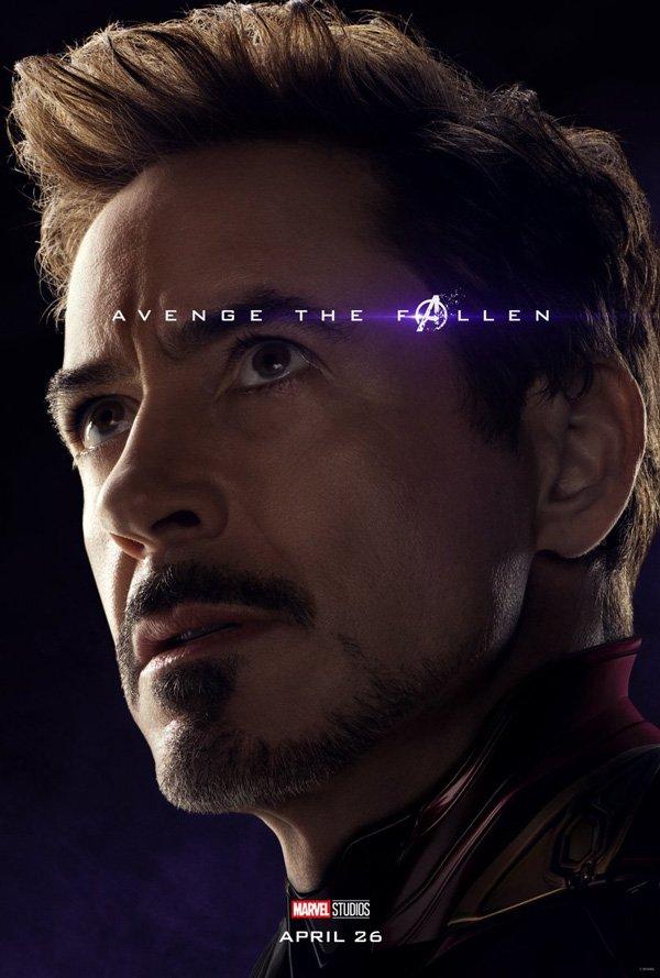 Tony Stark's official Avengers Endgame Poster