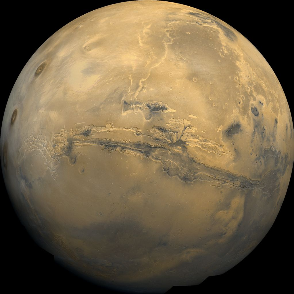 Valles Marineris Facts About The Grand Canyon Of Mars Space
