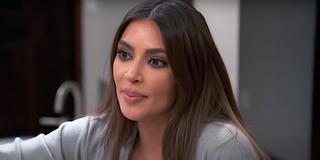 Kim Kardashian blank expression Keeping Up With the Kardashians
