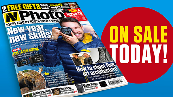 New year, new skills! February issue of N-Photo on sale now!
