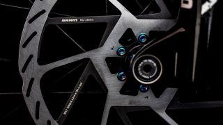 The new SRAM HS2 disc brake rotor