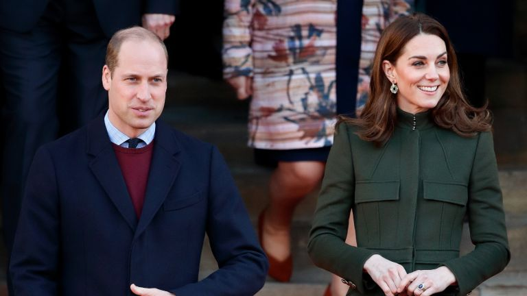 Prince William and Kate Middleton out and about
