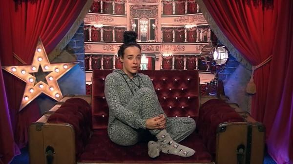 Stephanie in the diary room