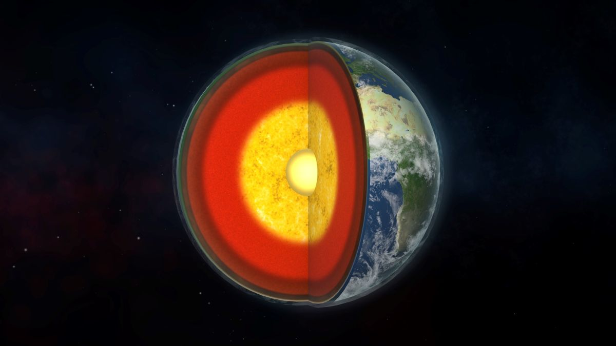 Most of Earth's carbon may be locked in our planet's outer core
