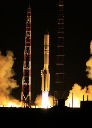 SES-5 Telecommunications Satellite Launch