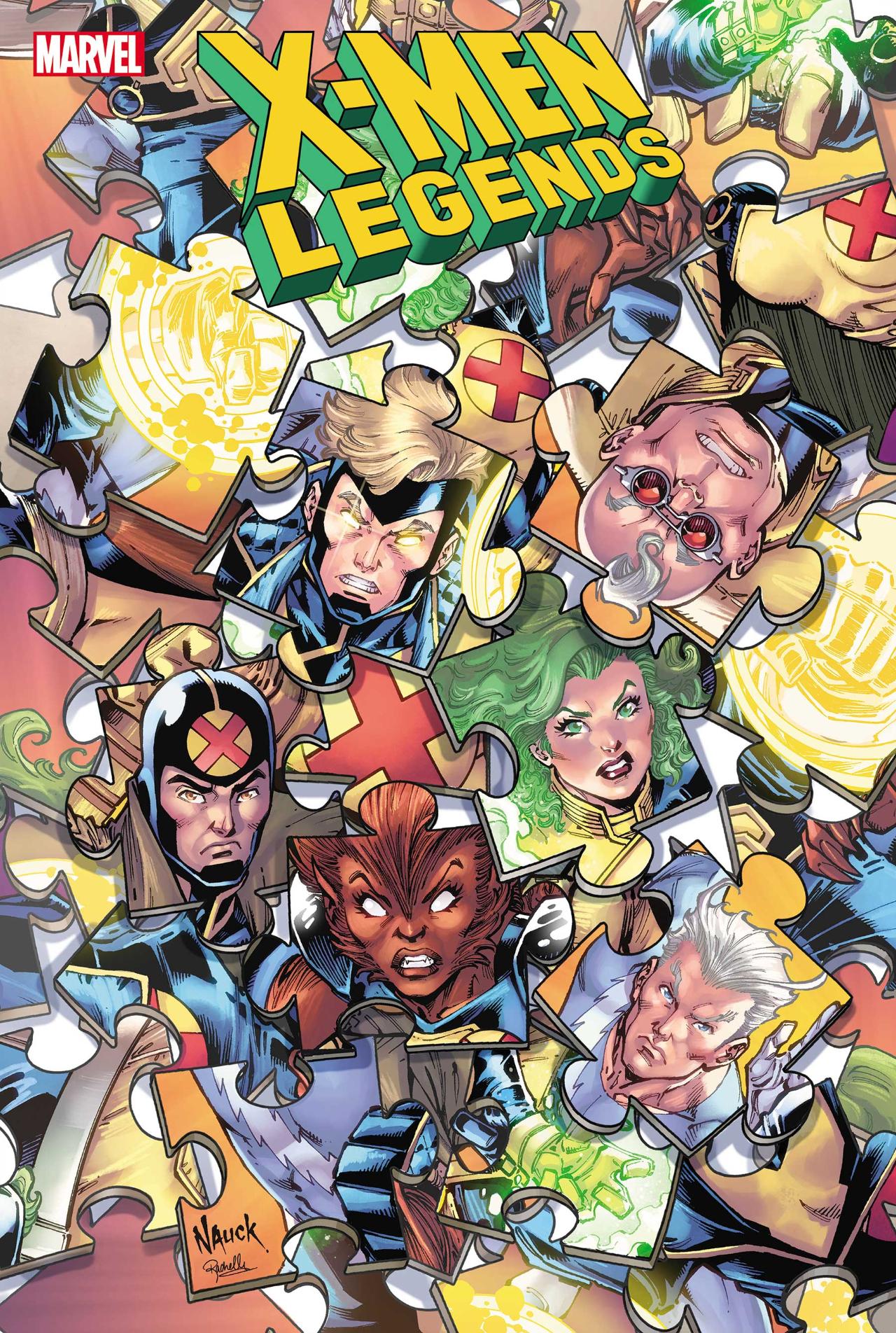 Leyendas de X-Men # 5