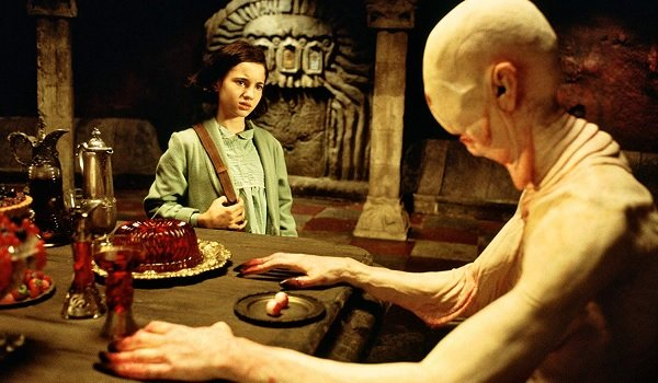 Pan's Labyrinth Ofelia and The Pale Man in the dining room