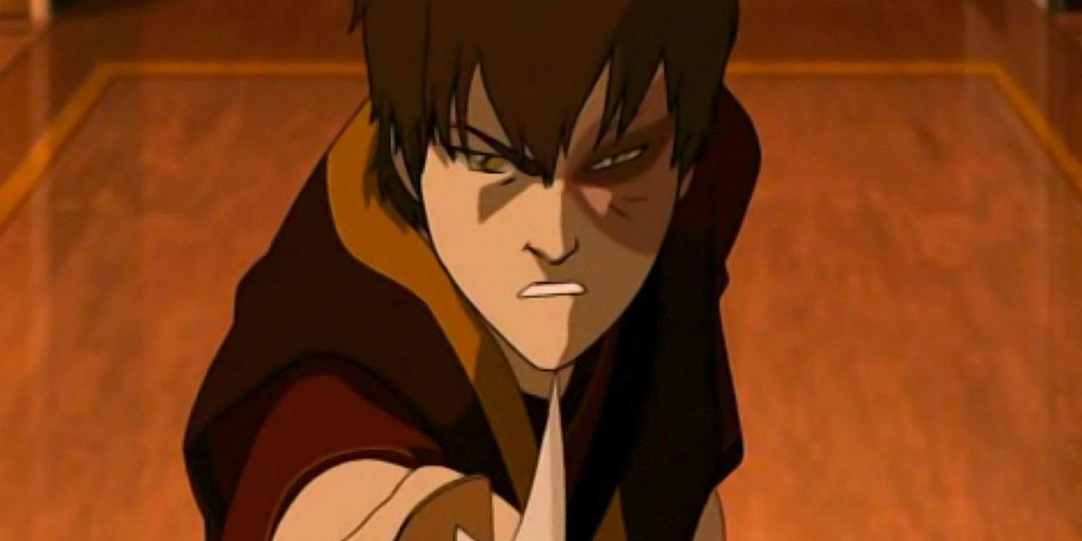 Zuko in Avatar: The Last Airbender
