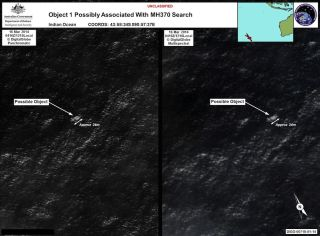 Possible Malaysia Airlines Debris - Satellite Photo