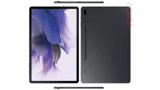 Alleged leaked render of Samsung Galaxy Tab S7 Lite