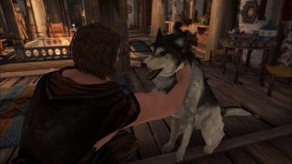 Skyrim pet the dog mod