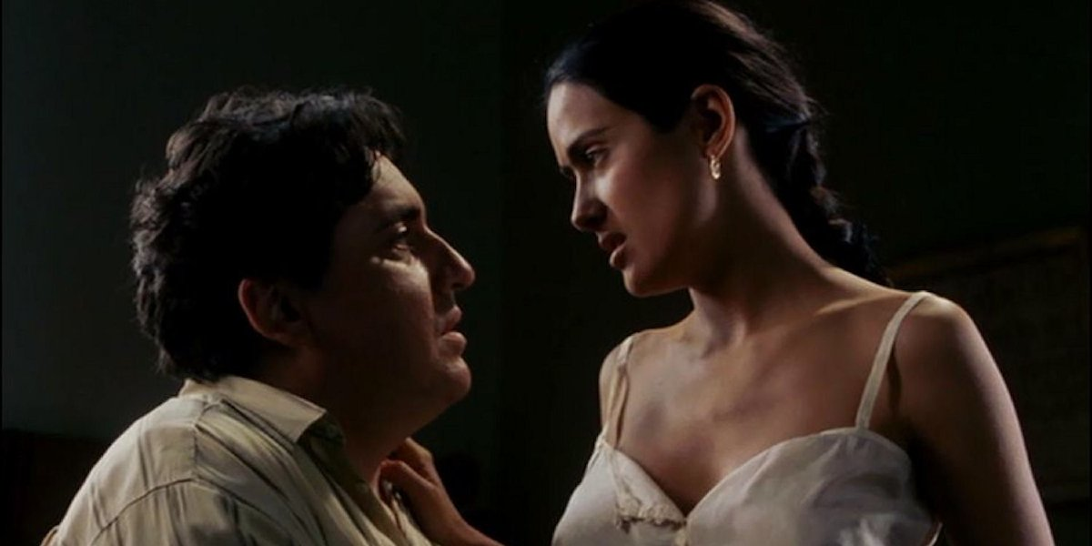Alfred Molina and Selma Hayek in Frida