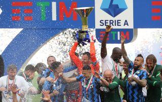 Inter Milan lift Serie A trophy | Serie A live streams