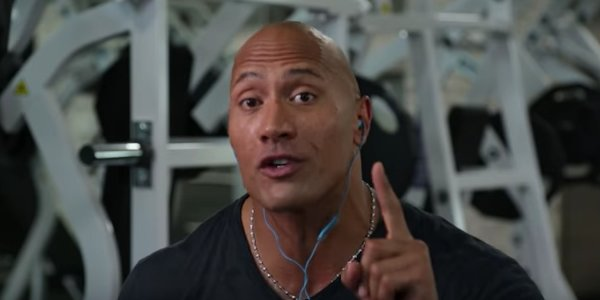 Watch The Rock Hilariously Provide Commentary For His First WWE Wrestling Match