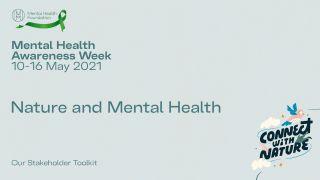 Mental Health Awareness Week promo