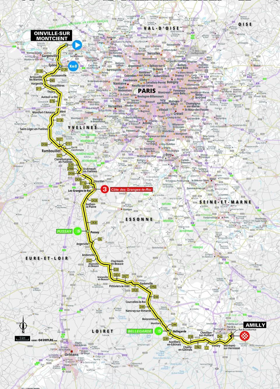 Paris-Nice stage 2