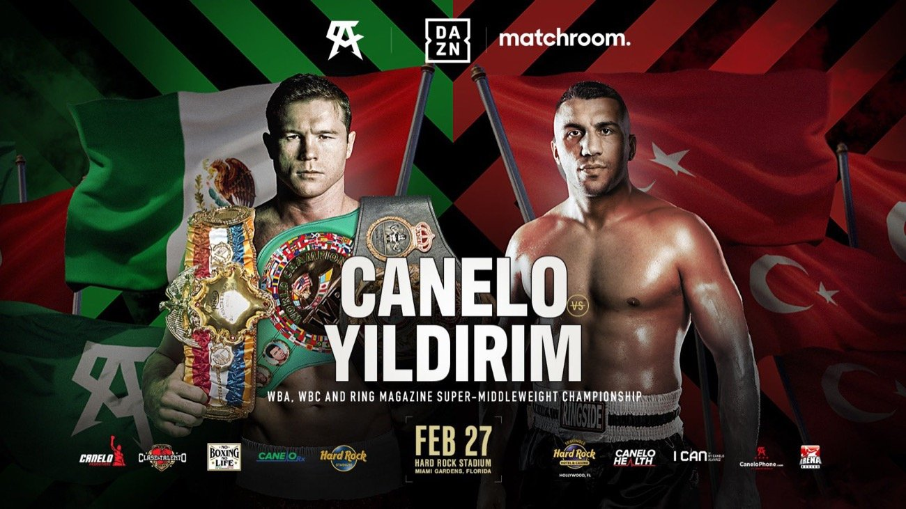 Canelo vs Yildirim live stream: start time, how to watch the boxing in UK, US and more