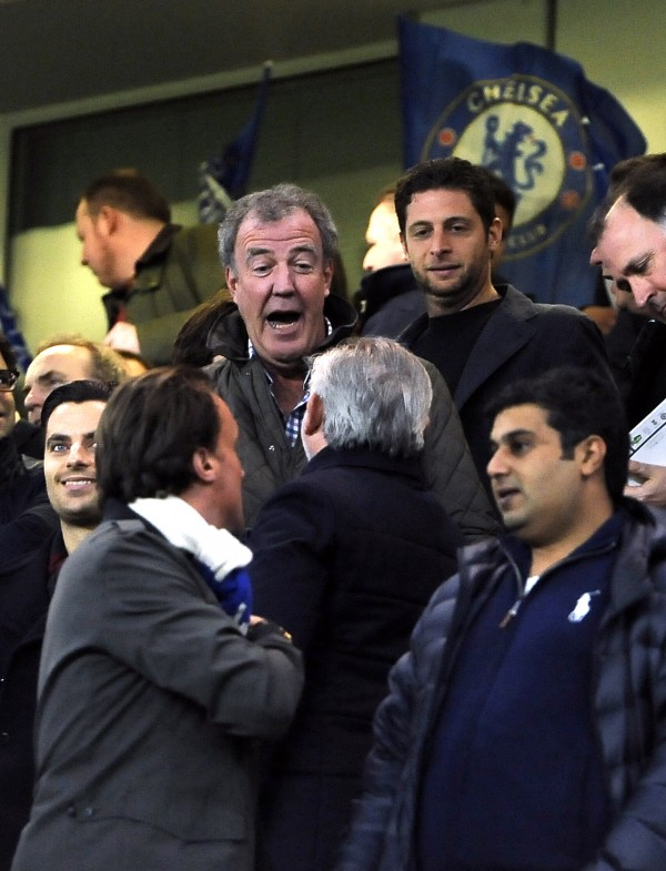Jeremy Clarkson at Stamford Bridge