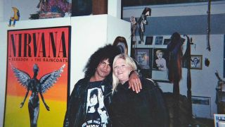 Vicky Hamilton with Slash