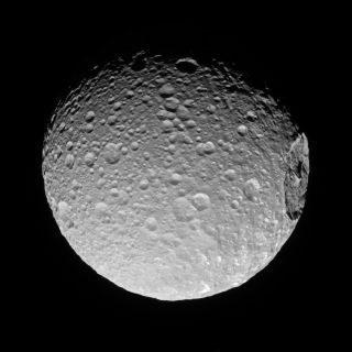 Saturn's 'Death Star' Moon Mimas