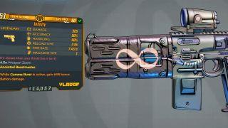 Borderlands 3 Infinity Pistol