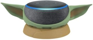 Amazon's 3rd Gen. Echo Dot with Mandalorian The Child Stand is 35% off for Prime Day 2021, saving you $23.