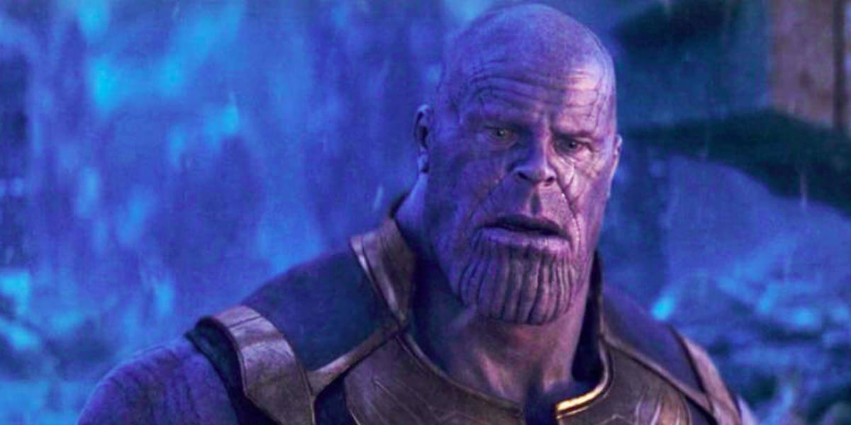 Josh Brolin as Sad Thanos in Avengers: Infinity War