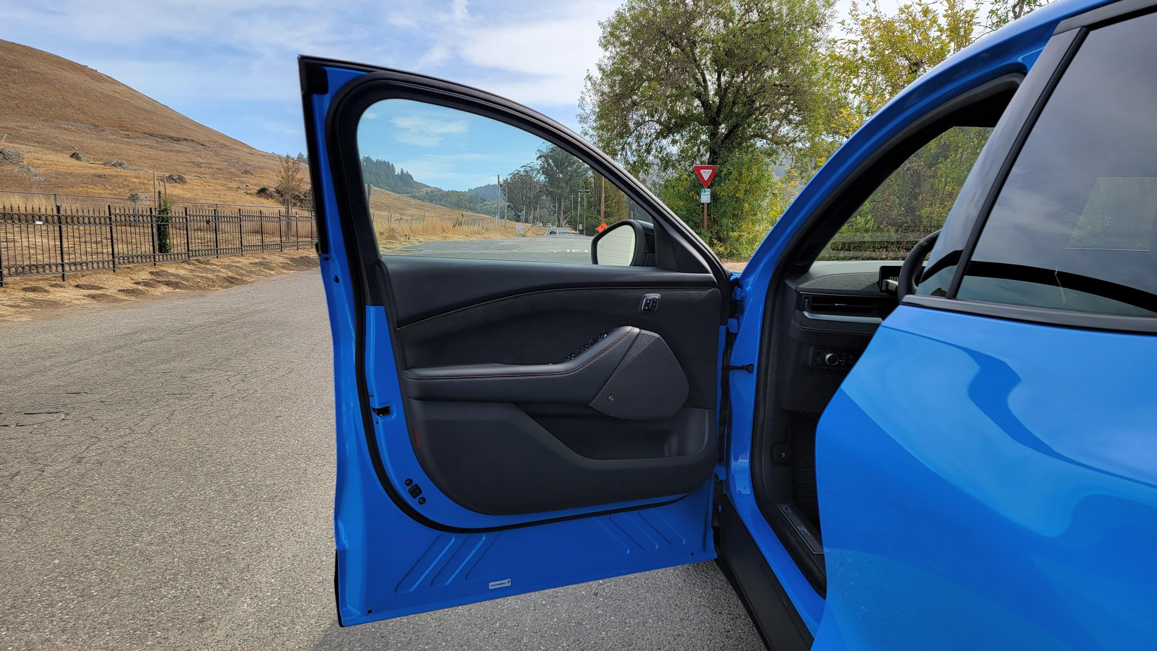 Mustang Mach-E GT interior