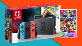 Bargain ahoy! The Nintendo Switch, Mario Kart 8 Deluxe, and a £30 eShop voucher are on offer for £299.99