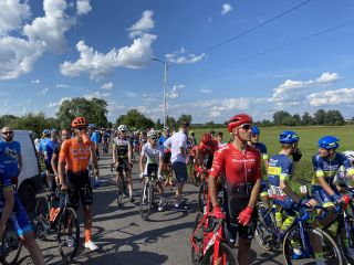 Opening stage of Dookola Mazowsza called off 30km from finish