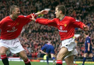 Phil Neville and David Beckham File Photos