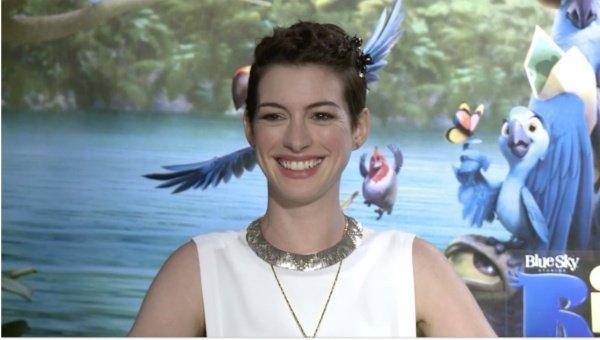 Anne Hathaway Rio 3