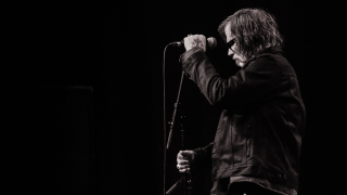Mark Lanegan on stage