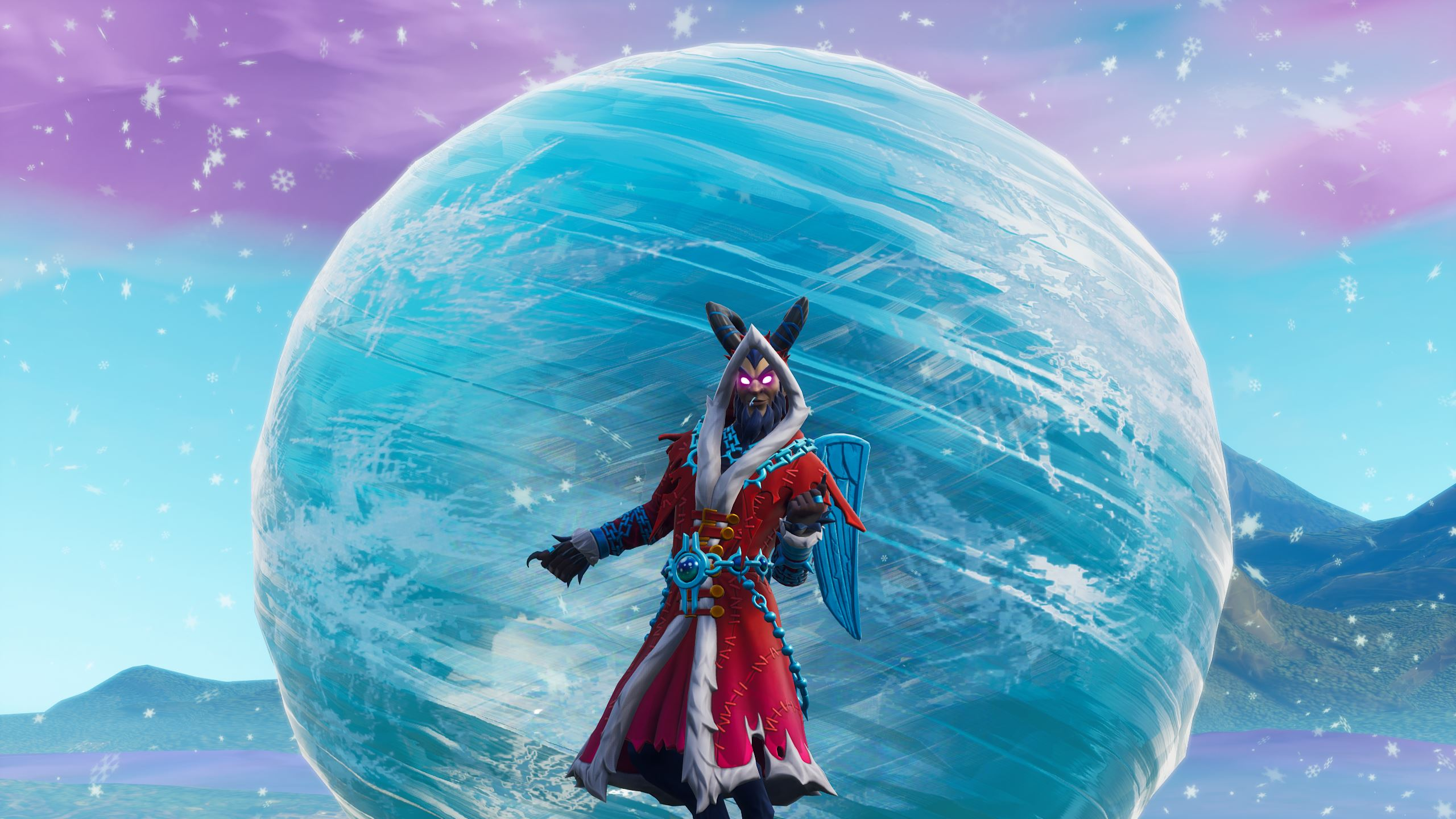 fortnite what s going on with the orb and the iceberg near happy hamlet pc gamer - rift butterfly fortnite